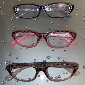 Lot of (3) 1.50 Strength Reading Glasses